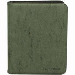Ultra Pro - Deck Builder's Playset PRO-Binder Suede -  Emerald 9-Pocket