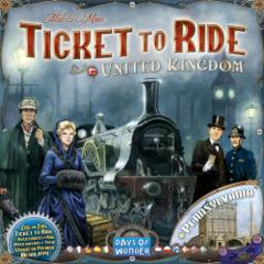 Ticket to Ride: United Kingdom (multilangue)