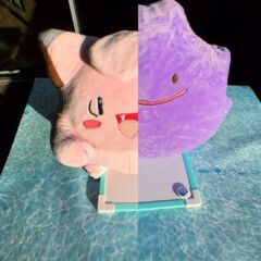 Clefairy Ditto Reversible Plush