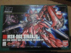 MSN- 06S Sinanju Neo Zeon Mobile Suit Customized for Newtype