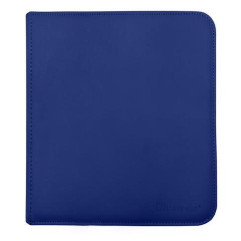 Ultra Pro - Zipper Binder Pro 12 pocket Blue