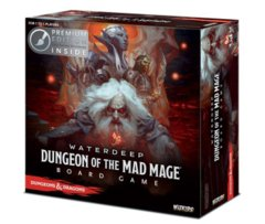 Dnd Boardgame - Waterdeep Dungeon of the Mad Mage Premium