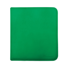 Ultra Pro - Zipper Binder Pro 12 pocket Green