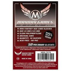 Mayday - Standard Card Sleeves 43Mm X 65Mm 50Ct