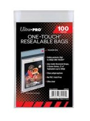 Ultra Pro One touch resealable bag (100)