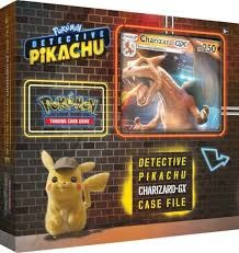 Detective Pikachu - CHARIZARD GX - Special Case File