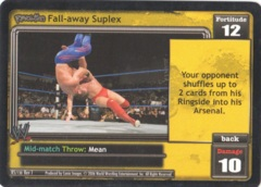 Fall-away Suplex
