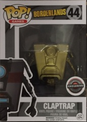 Claptrap Gold Gamestop Exclusive POP! Vinyl