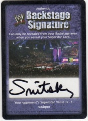 Backstage Signature - Snitsky
