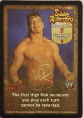 Eddie Guerrero face card