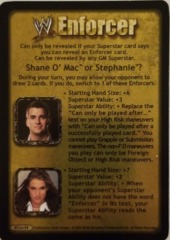 Shane O' Mac or Stephanie ?