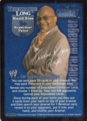 Theodore Long face card