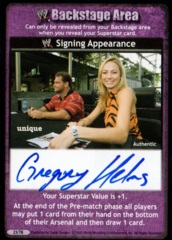 Signing Appearance - Hurricane