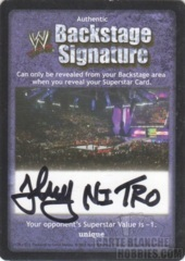 Backstage Signature - Johnny Nitro