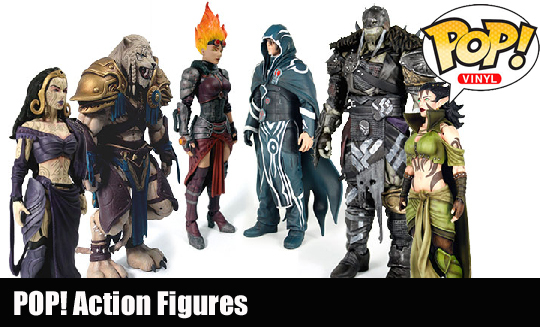 Pop action figs
