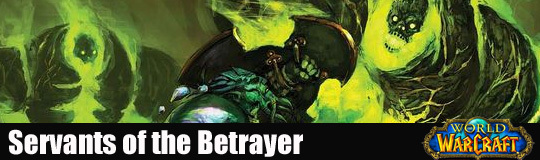 Servants of betrayer slim