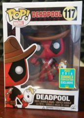 Deadpool Cowboy Summer Convention 2016 Exclusive POP! Vinyl