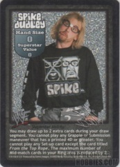 Spike Dudley face card
