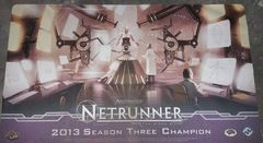 Android Netrunner 2013 Season Three Champion Playmat