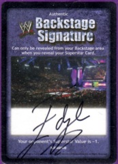 Backstage Signature - Edge