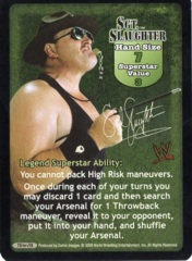 Sgt. Slaughter face card