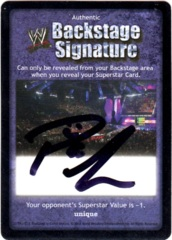 Backstage Signature - Paul London
