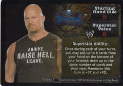 Revo Stone Cold Steve Austin face card