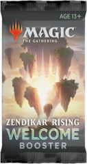 Zendikar Rising Welcome Booster