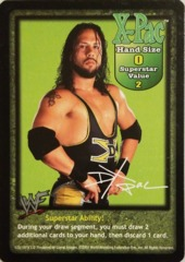 X-Pac face card