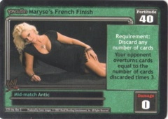 Maryse's French Finish