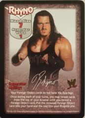 Rhyno face card