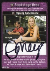 Signing Appearance - Ashley
