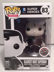 Blackest Night Superman Gamestop Exclusive POP! Vinyl