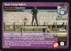 Boot Camp Match