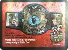 World Wrestling Federation Heavyweight Title Belt