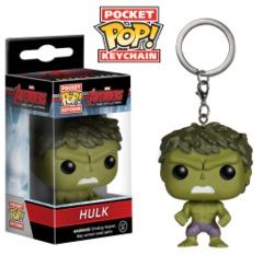 Hulk Pocket POP! Keychain