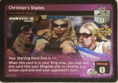 Christian's Shades THROWBACK