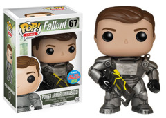 Fallout Power Armor (Unmasked) New York Comicon Limited Edition POP! Vinyl