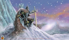 Dark Lord of Frozen Isles Playmat
