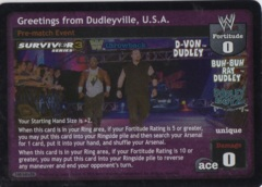 Greetings from Dudleyville, USA THROWBACK