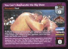 You Can't Manhandle the Big Show