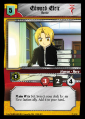 Edward Elric, Novice