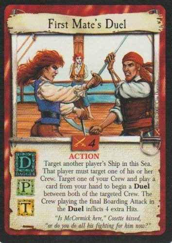 First Mates Duel
