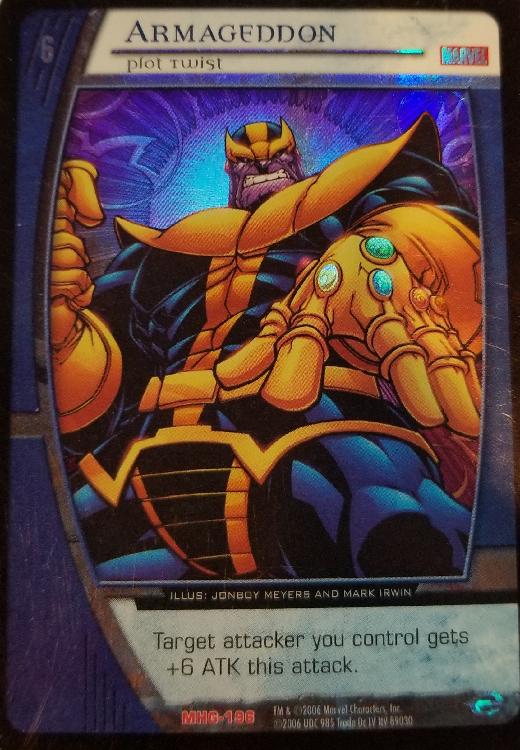 X Men TCG Rare Foil Card Selection
