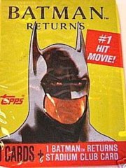 Batman Returns Trading Card Pack