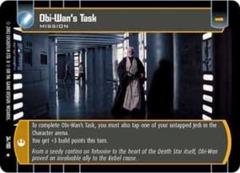 Obi-Wan's Task