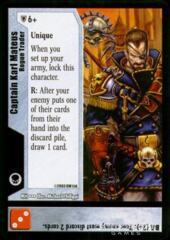 Captain Karl Mateus - Rogue Trader