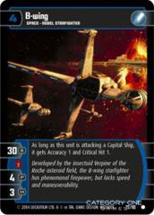 B-wing - Foil