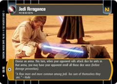 Jedi Arrogance