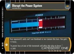 Disrupt the Power System - Foil